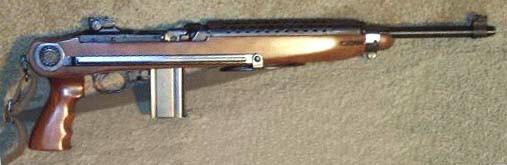 Universalpara on Universal M1 Carbine Paratrooper Stock
